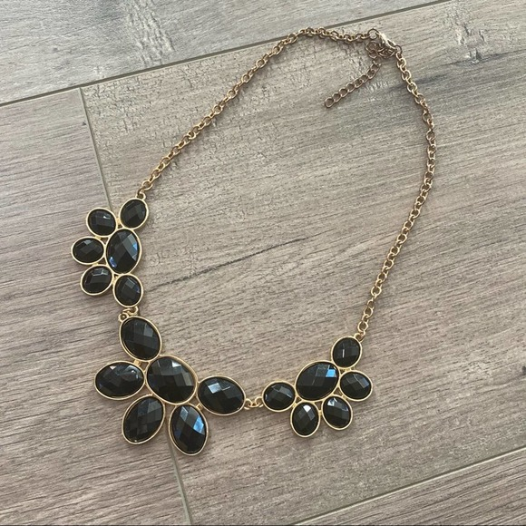 🚫Sold🚫 Francescas Black & Gold Necklace